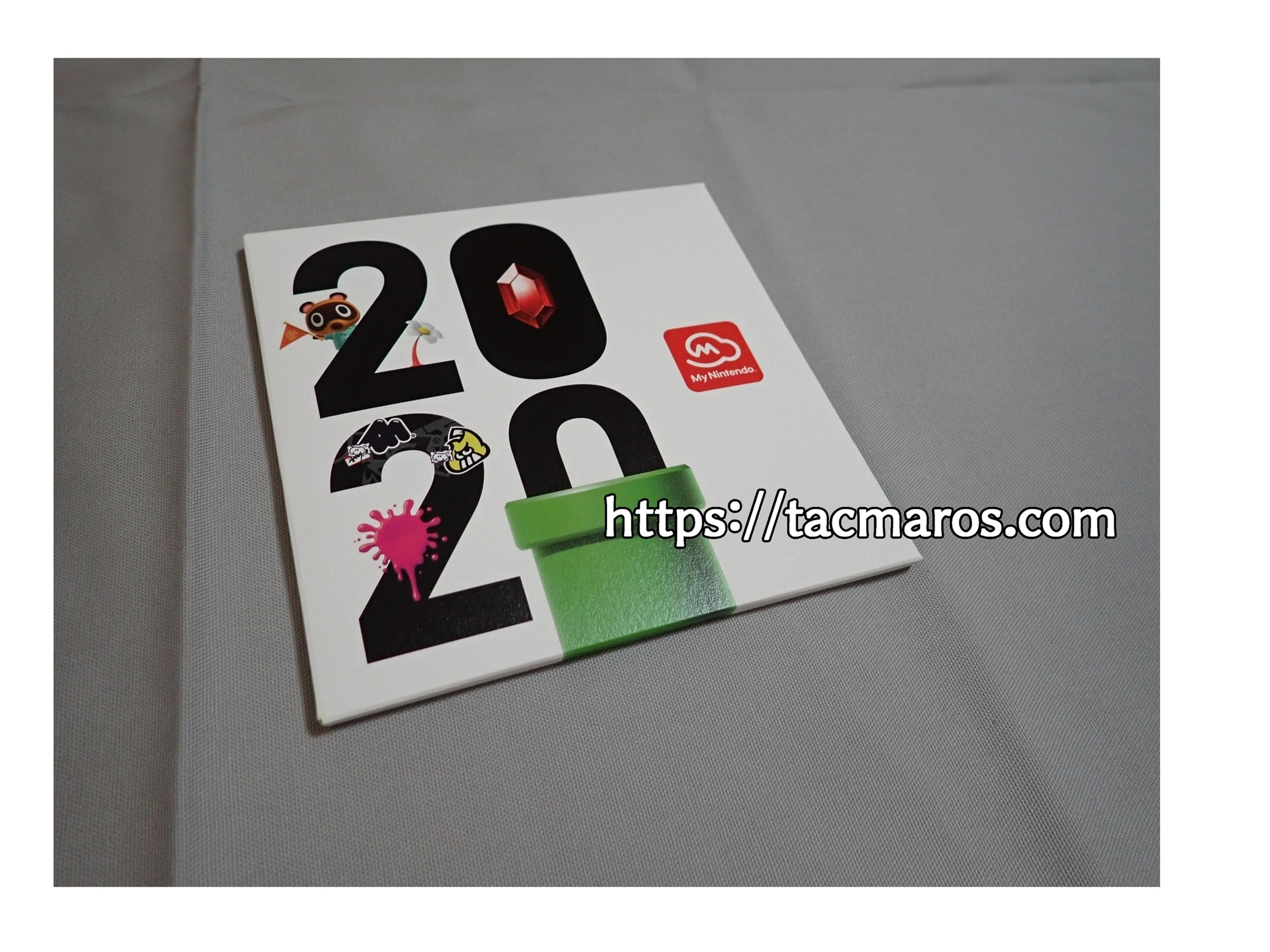 マイニンテンドープラチナポイント交換グッズ マイニンテンドーオリジナルカレンダー2020 パッケージ